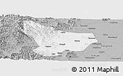 Gray Panoramic Map of Wu An
