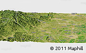 Satellite Panoramic Map of Wu An