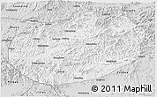 Silver Style 3D Map of Xinglong