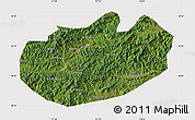 Satellite Map of Xinglong, cropped outside