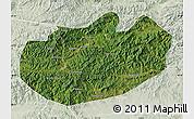 Satellite Map of Xinglong, lighten