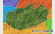 Satellite Map of Xinglong, political outside