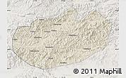 Shaded Relief Map of Xinglong, lighten