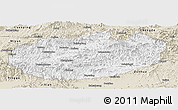 Classic Style Panoramic Map of Xinglong