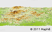 Physical Panoramic Map of Xinglong