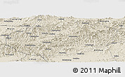 Shaded Relief Panoramic Map of Xinglong