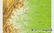 Physical Map of Xingtai