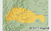 Savanna Style Map of Xingtai