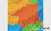 Political Map of Yu Xian