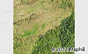 Satellite Map of Yu Xian