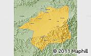 Savanna Style Map of Yu Xian