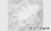 Silver Style Map of Yu Xian