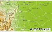 Physical 3D Map of Yuanshi