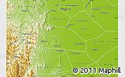 Physical Map of Yuanshi