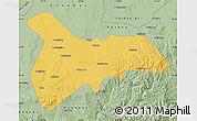 Savanna Style Map of Zhangbei