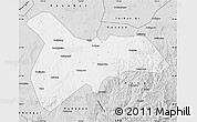 Silver Style Map of Zhangbei