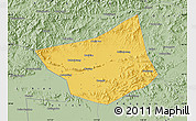 Savanna Style Map of Zunhua