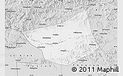 Silver Style Map of Zunhua