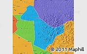 Political Map of Acheng