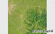 Satellite Map of Acheng