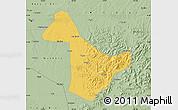 Savanna Style Map of Acheng