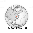 Outline Map of Acheng