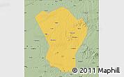Savanna Style Map of Bayan