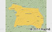 Savanna Style Map of Beian