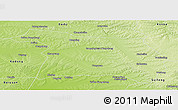 Physical Panoramic Map of Beian