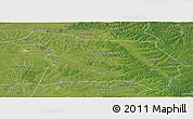 Satellite Panoramic Map of Beian