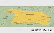 Savanna Style Panoramic Map of Beian