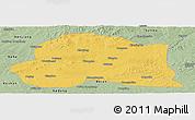 Savanna Style Panoramic Map of Dedu
