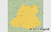 Savanna Style Map of Fuyu