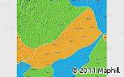 Political Map of Gannan