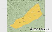 Savanna Style Map of Gannan