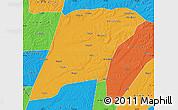 Political Map of Hailun