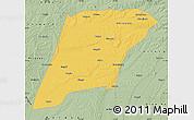 Savanna Style Map of Hailun