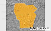 Political Map of Kedong, desaturated