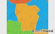 Political Map of Kedong