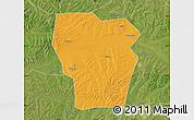 Political Map of Kedong, satellite outside