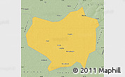 Savanna Style Map of Lindian