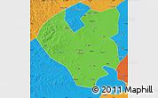 Political Map of Longjiang