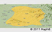 Savanna Style Panoramic Map of Mulan