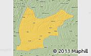 Savanna Style Map of Nehe