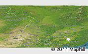 Satellite Panoramic Map of Heilongjiang