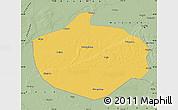 Savanna Style Map of Shuangcheng