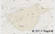Shaded Relief Map of Sunwu, lighten