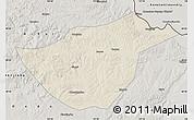 Shaded Relief Map of Sunwu, semi-desaturated