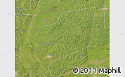 Satellite Map of Wangkui