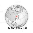 Outline Map of Wangkui